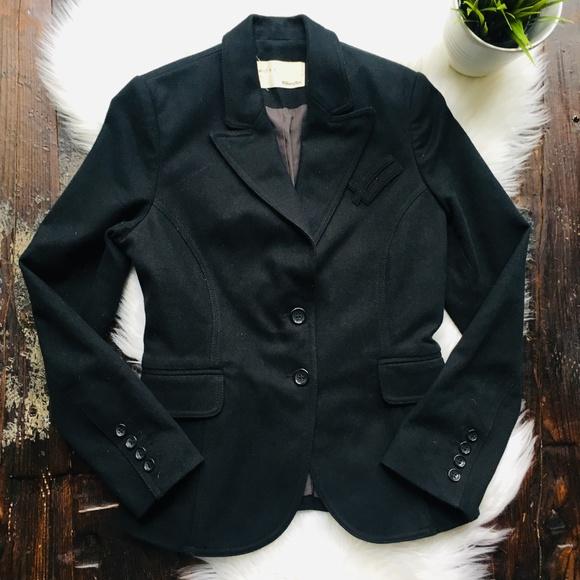 William Rast Jackets & Blazers - WILLIAM RAST Black Blazer Jacket Women's SMALL EUC